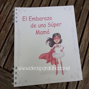 Agenda de embarazo Super Mama