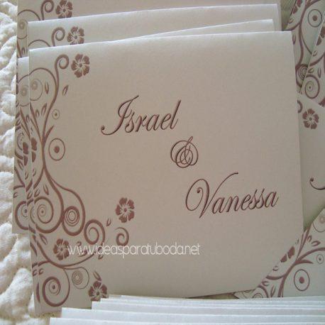 Invitación de boda One ( invitaciones bodas )