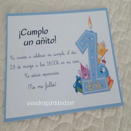 Invitación de Fiestas y Cumpleaños Vela