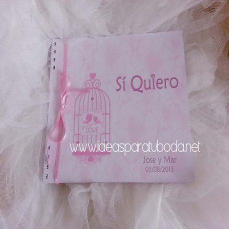 Libro de firmas para boda Love