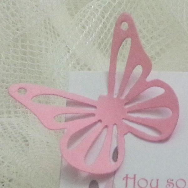 Mariposa de las tarjetas de agradecimiento para boda