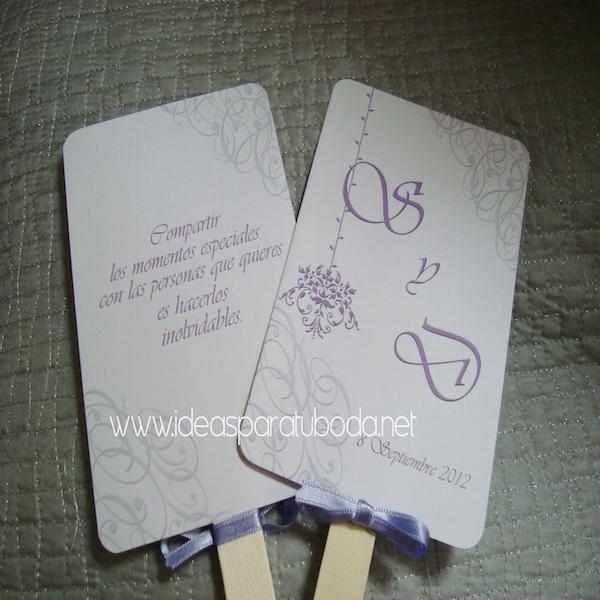 Pai Pais para boda Purple