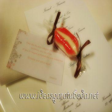 Tarjeta de Agradecimiento para boda Sweet