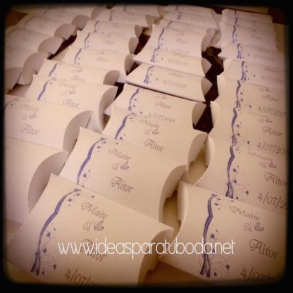 Cajas para regalo detalle de invitados de boda fiesta
