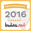 Tu Boda de Ensueño Recomendado Bodas.net 2016