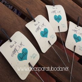 tarjeta bengala amor boda