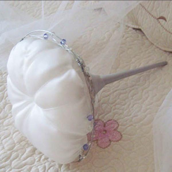 Porta alfileres para bodas modelo flower