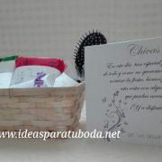 cesta baño chila lila