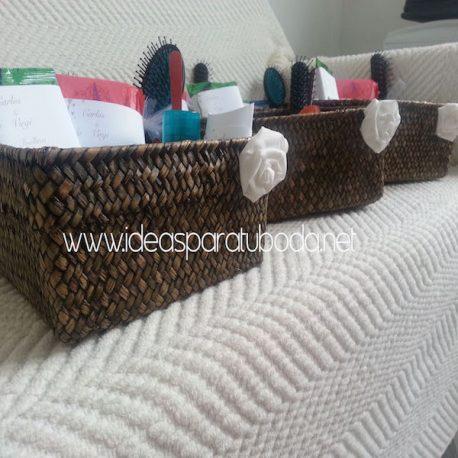 Pack de cestas para baños Chic