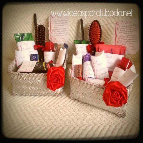 Pack de cestas para baños Red