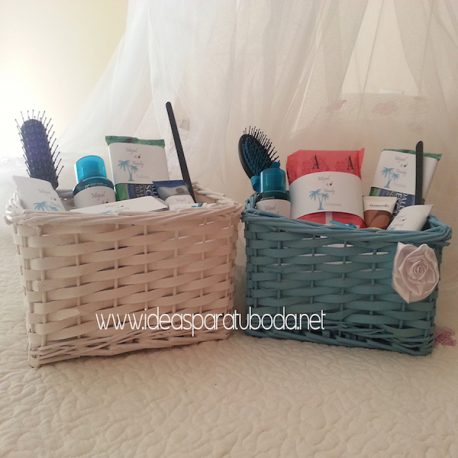 Pack de cestas para baños Tropical