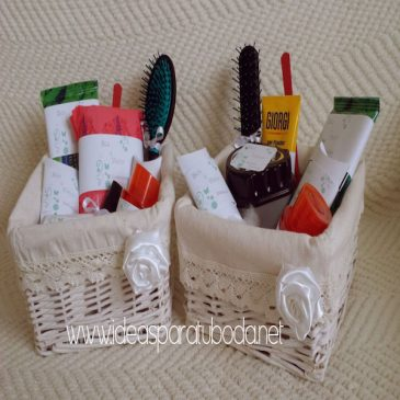 Pack de cestas para baños Verde Mint