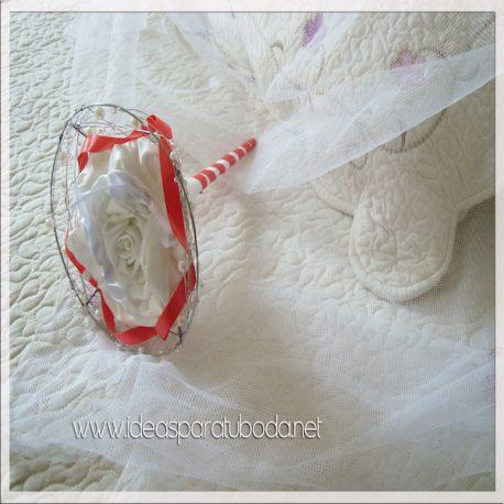Porta alianzas para boda Red