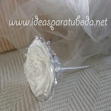 Porta arras para boda Snow