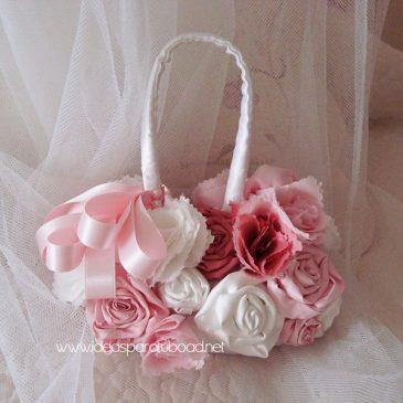 ramo de novia tipo bolso modelo fashion