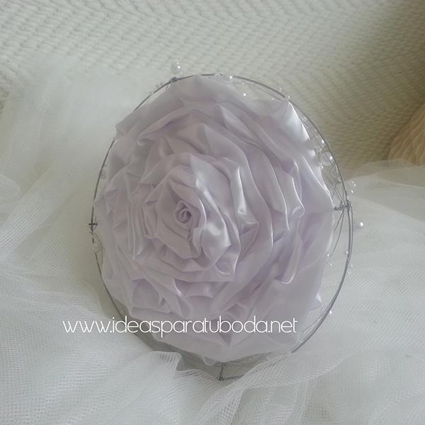 ramo de novia para bodas modelo white