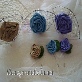 mini ramos para bodas