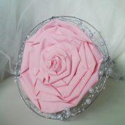 ramo de novia para bodas tipo rosmelia rosa