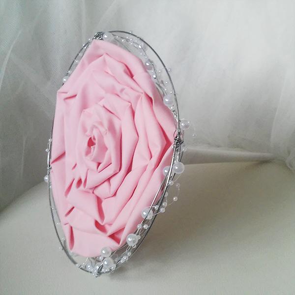ramo boda para novias tipo rosmelia rosa