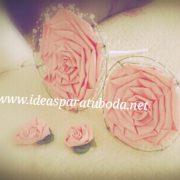 conjunto ramo boda para novia rosmelia rosa