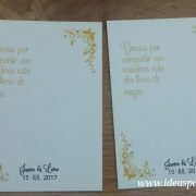 tarjetas alfiler boda presentación