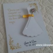 tarjetas alfiler boda vestido novia