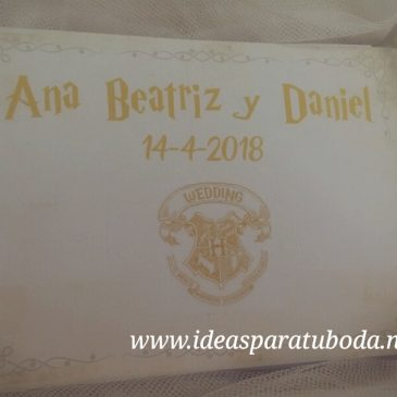 Agenda Boda Harry Potter
