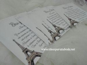 invitación boda parís vintage1