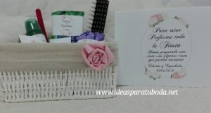 cesta baño boda