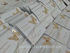 estuches lagrimas felicidad mariposa dorada