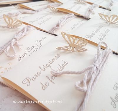 para lagrimas felicidad boda mariposa dorada