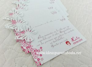 tarjeta agradecimiento comunion mariposa primavera1