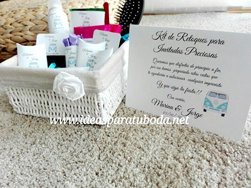 cesta baño boda chicas caravana viajes cartel instrucciones