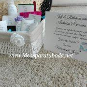 cesta baño chicas boda caravana cartel