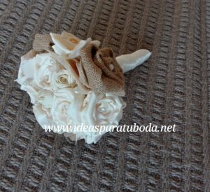 ramo de novia ideal tela