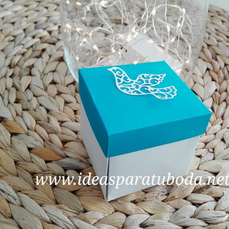 Invitación Comunión Caja Original