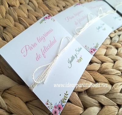 para lagrimas de felicidad boda flores
