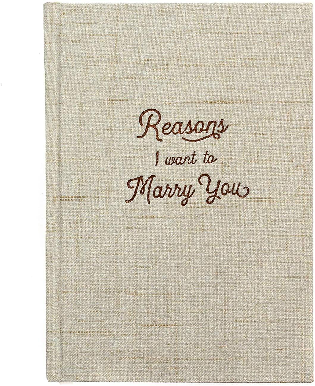 razones por la que quiero caserme contigo regalo novios boda