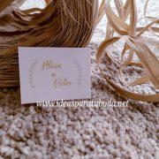 tarjetas regalo bodas dorado